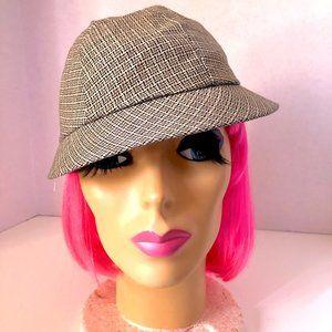 Vintage Women's Brimmed Hat, Cap,